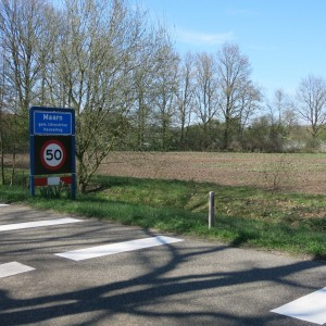 Beoogde locatie nieuwe brandweerkazerne Maarn - Maarsbergen